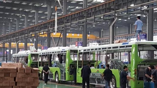 【捷报】太昌砍获中山小榄汽运80台南京金龙客车纯电空调